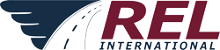 REL International GmbH – Ihr Spezialist für internationale Transporte Logo